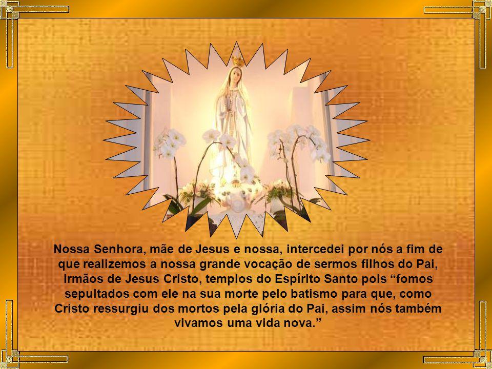 Senhor Jesus, fazei-nos responsáveis pela ação evangelizadora da Igreja e que levemos o Evangelho a todos os povos, pessoas, culturas e credos.