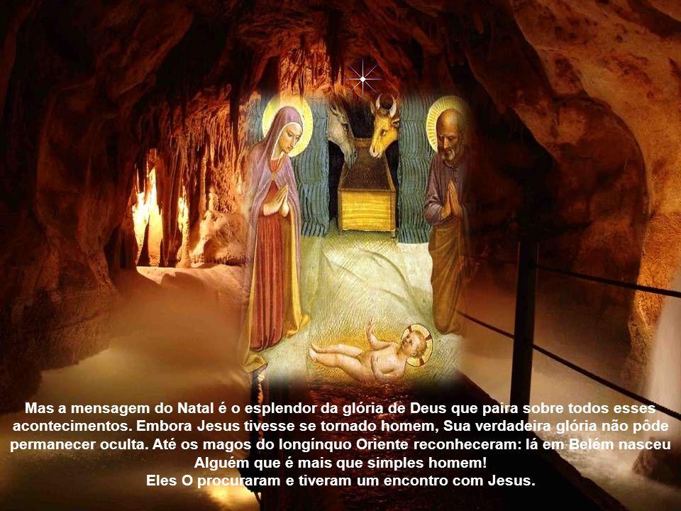 Jesus tornou-se homem. Ele começou a Sua vida como todos nós: Ele nasceu num mundo perdido. Ele não teve nenhum lar seguro, pois pobreza, inquietação