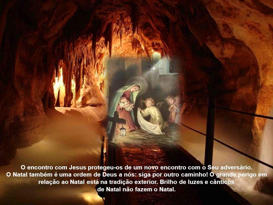 O Natal é o convite de Deus a nós seres humanos: venham, vejam meus filhos! O verdadeiro encontro com Jesus, o verdadeiro Natal, também fez com que os