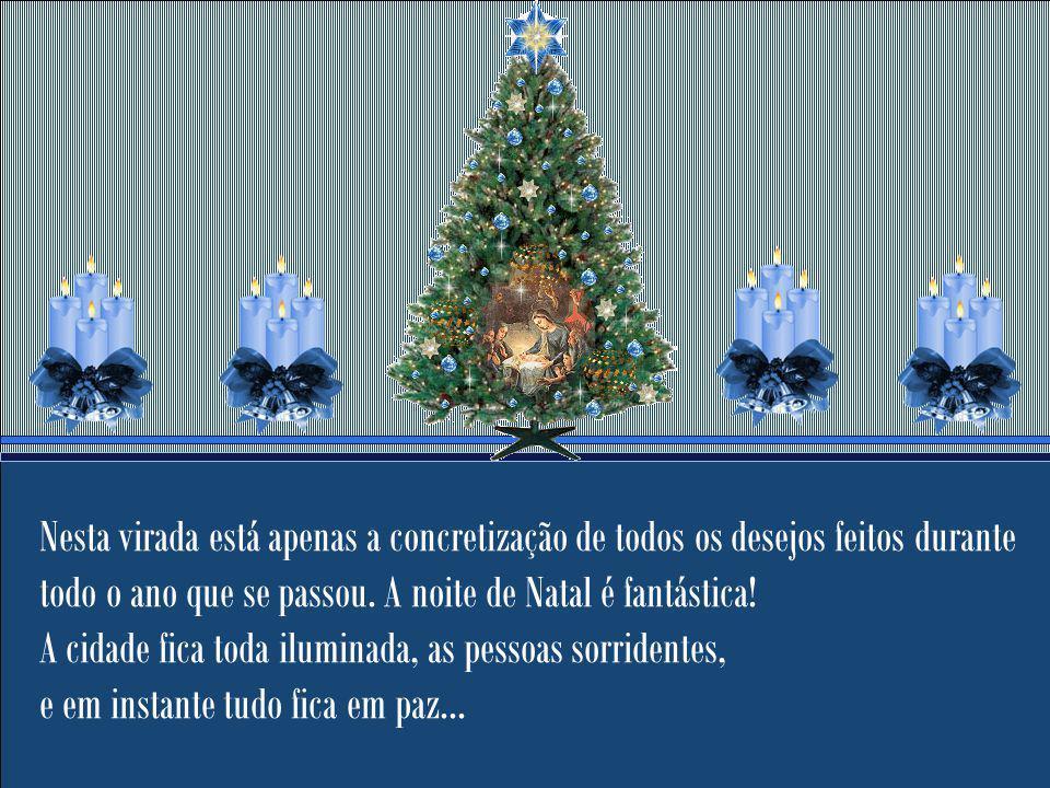 Quero neste Natal, desejar não somente que tenhas muitas felicidades neste dia, mas sim que Milagres te dominem, e te faça perceber que Natal não está