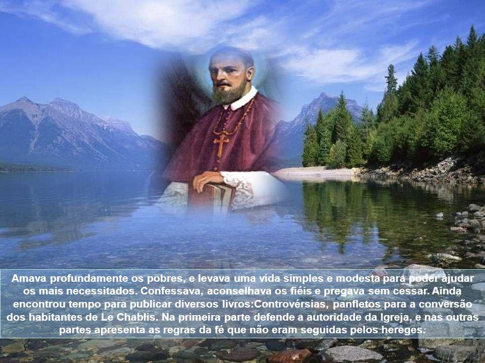 Em 1602, com a morte de Claude de Granier, Francisco de Sales foi consagrado bispo de Genebra.