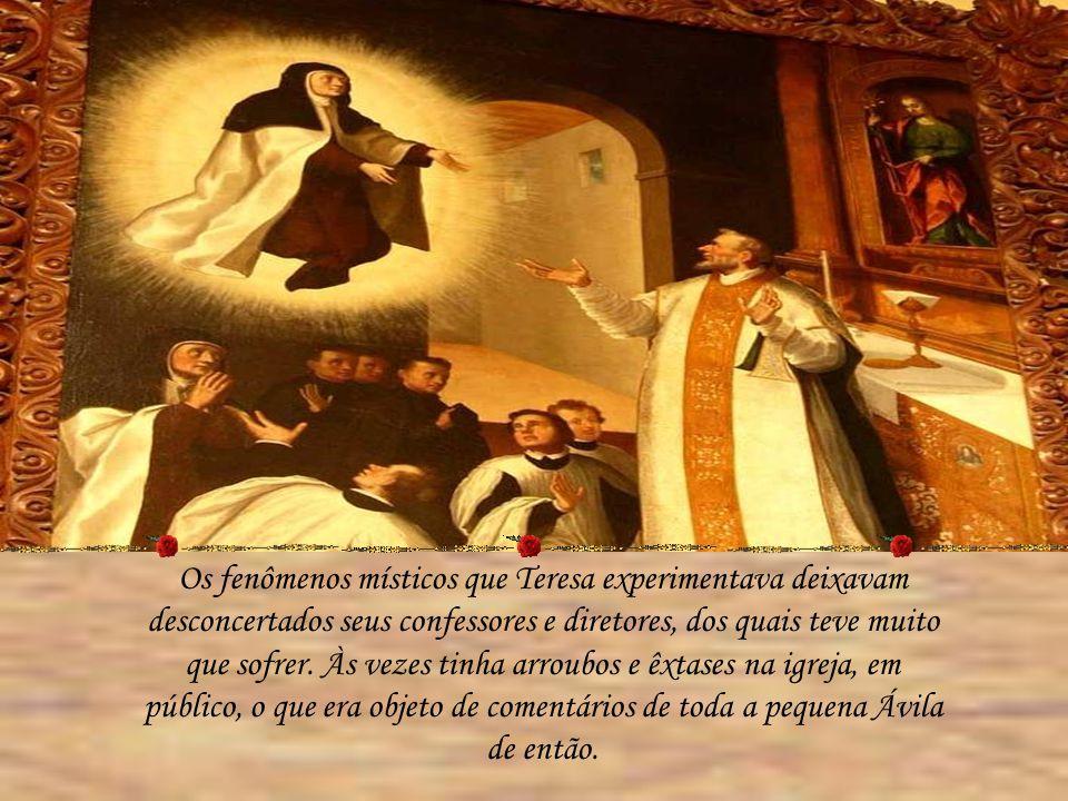O Cristo de Teresa O Cristo muito chagado do Convento da Encarnação, em Ávila, diante do qual Teresa experimentou a sua reconversãodefinitiva em 1554.