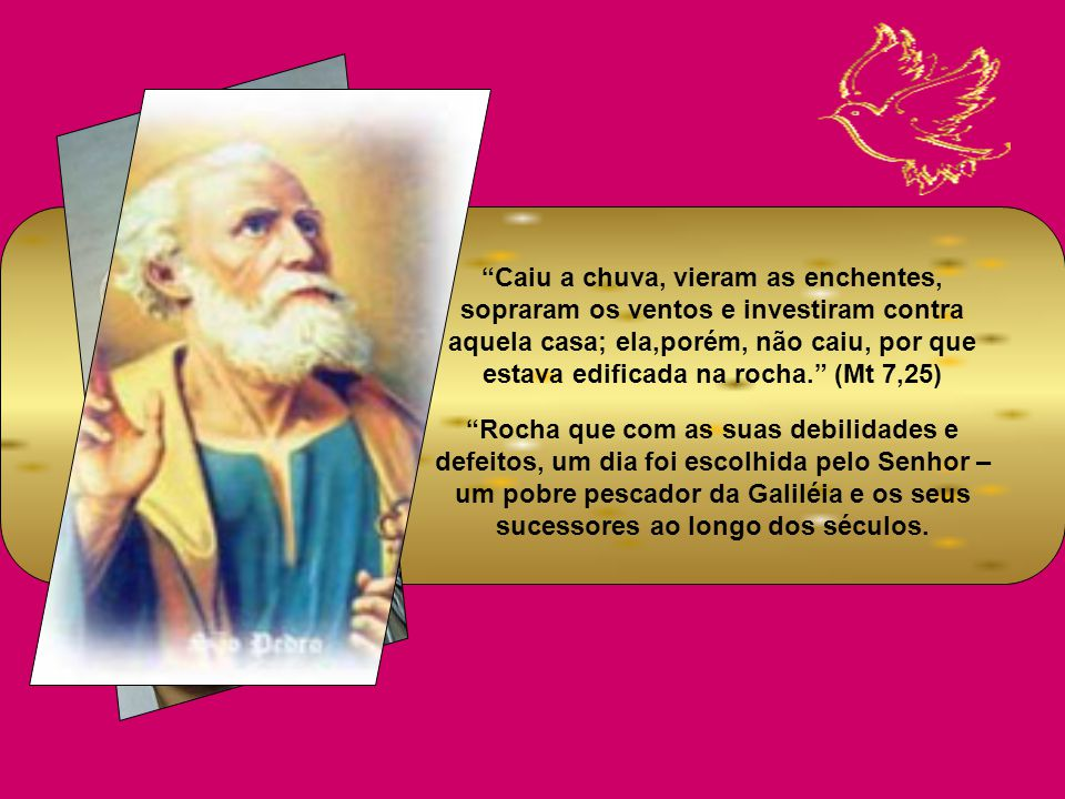 CARÍSSIMOS, Esta solenidade de hoje, 29 de junho, data dos primeiros tempos do cristianismo: São Pedro e São Paulo. Esses apóstolos são considerados c