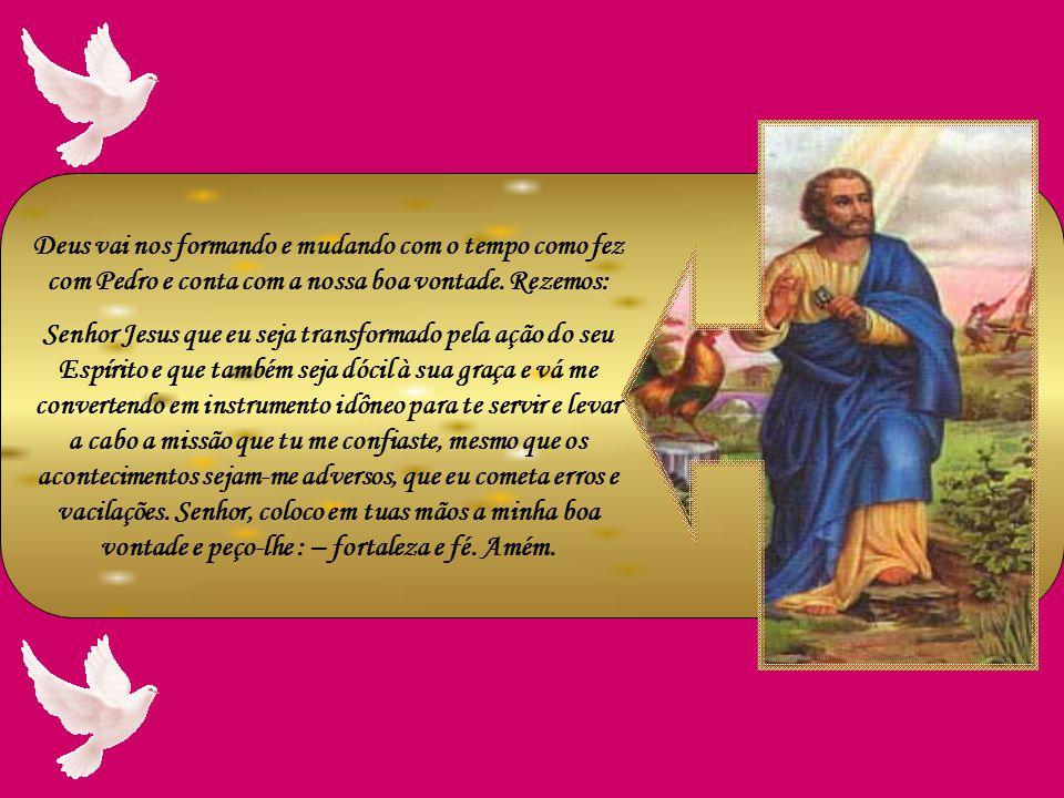 Foi em Cesaréia de Felipe que Jesus prometeu a Pedro o primado sobre toda a Igreja. Disse-lhe Jesus: E vós quem dizeis que eu sou? Simão Pedro respond