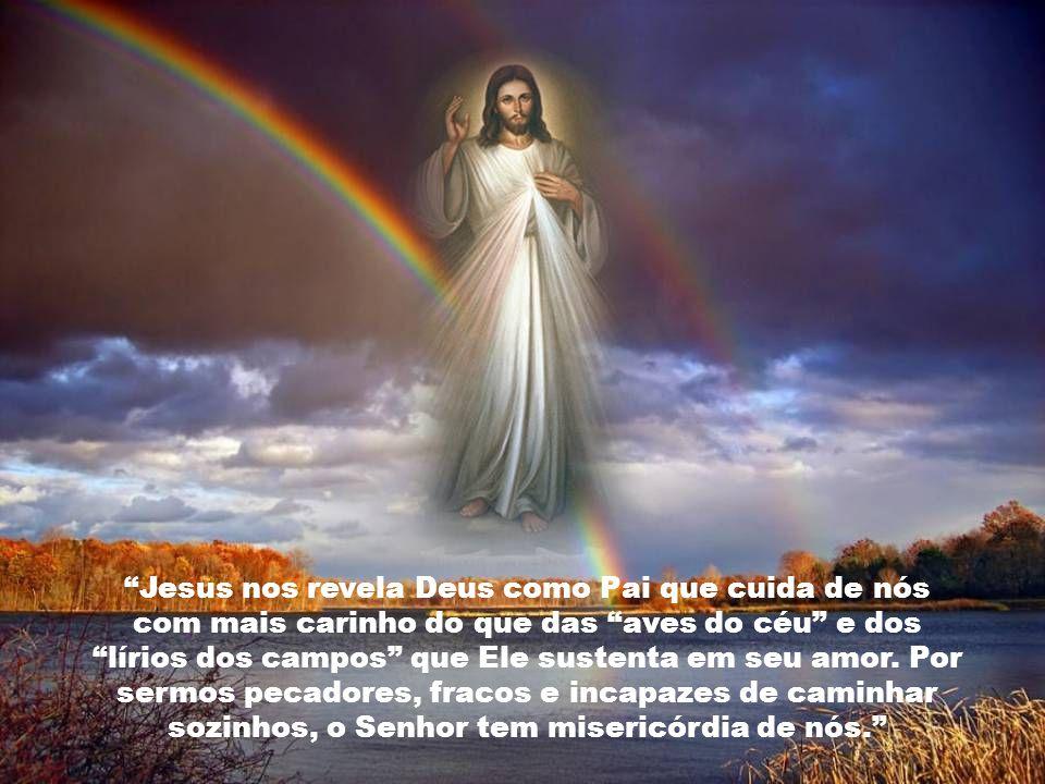 A misericórdia de Deus se manifesta no perdão incondicional e na transformação de todo o mal em bem.