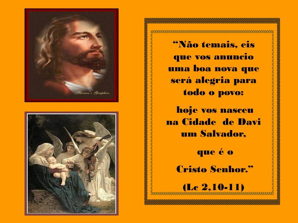 O nascimento de Jesus foi um imenso júbilo para a SS.
