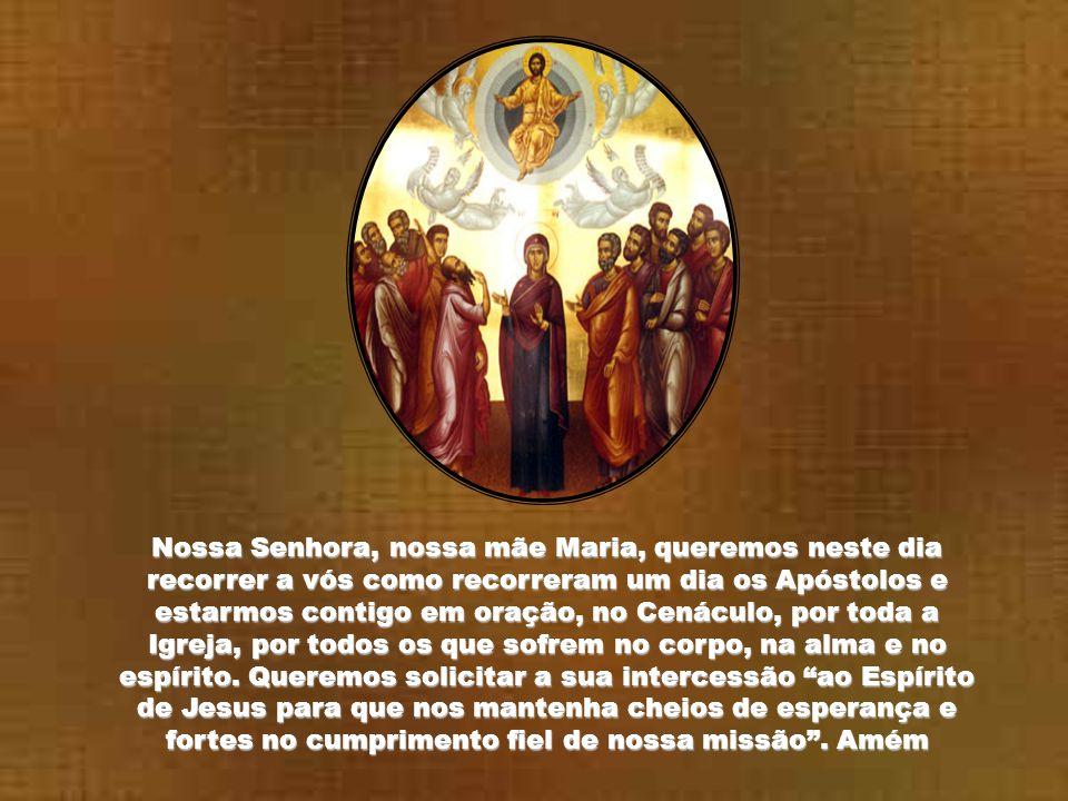 Contemplamos a Ascensão do Senhor aos céus no segundo mistério glorioso do Santo Rosário.