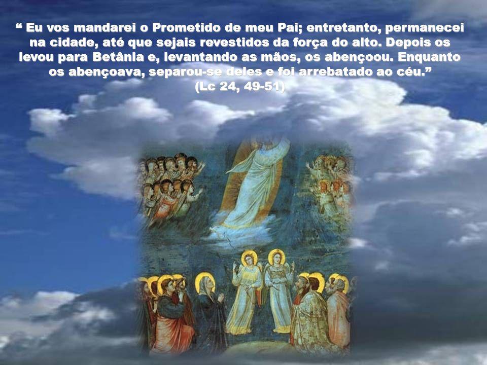 Eu vos mandarei o Prometido de meu Pai; entretanto, permanecei na cidade, até que sejais revestidos da força do alto.