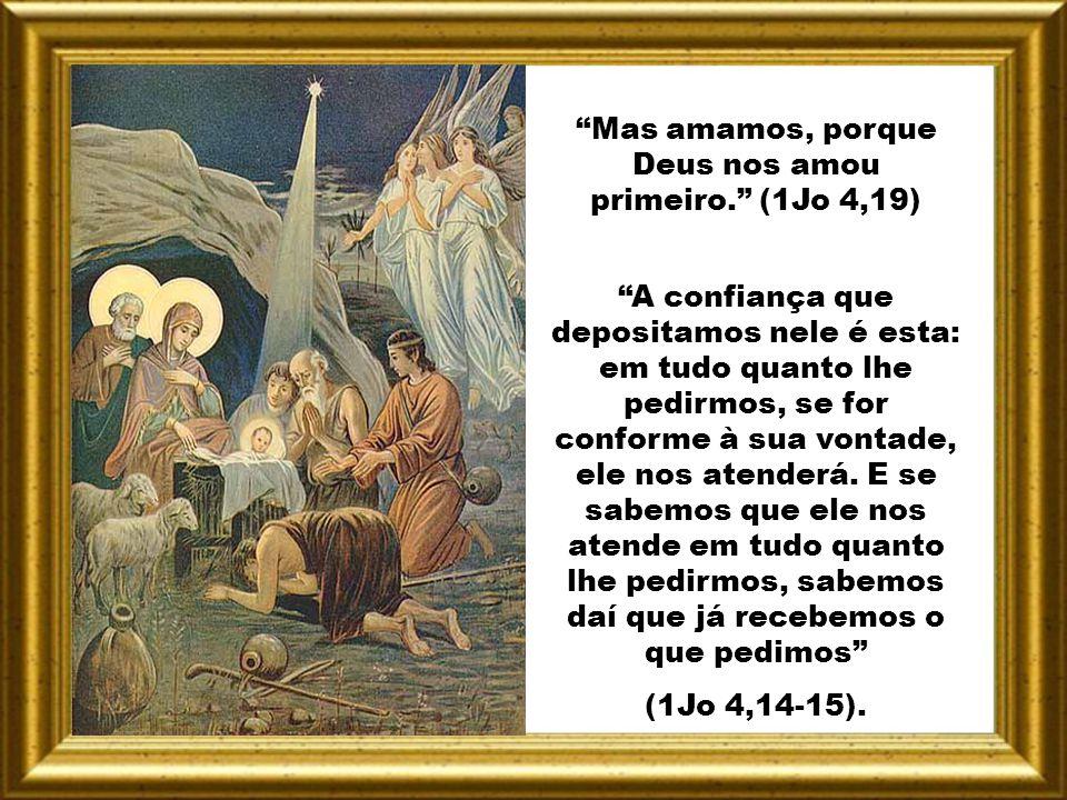 Ó fogo divino, despertai em todos nós, que participamos de vosso apostolado, aqueles ardores que transformaram os apóstolos reunidos no cenáculo. Entã