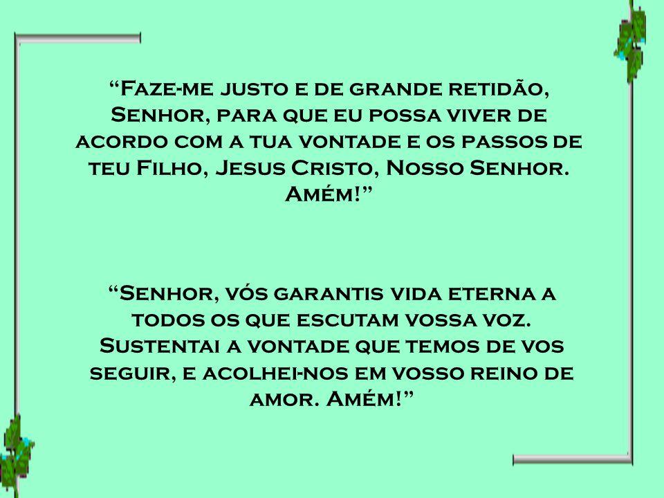 Pai do céu, concede-nos o coração de uma criança para que em fé acolhamos teu bendito Filho Jesus e, com a ajuda do divino Espírito Santo, possamos ex