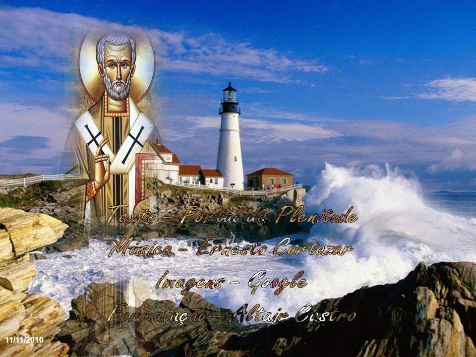«Deixai-me, irmãos, deixai-me olhar antes para o céu do que para a terra, para que a minha alma, ao iniciar a sua marcha para Deus, siga bem o seu caminho».