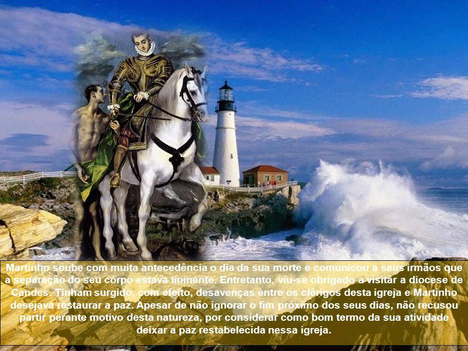 A descrição da sua morte, feita por um discípulo, é-nos de grande edificação.