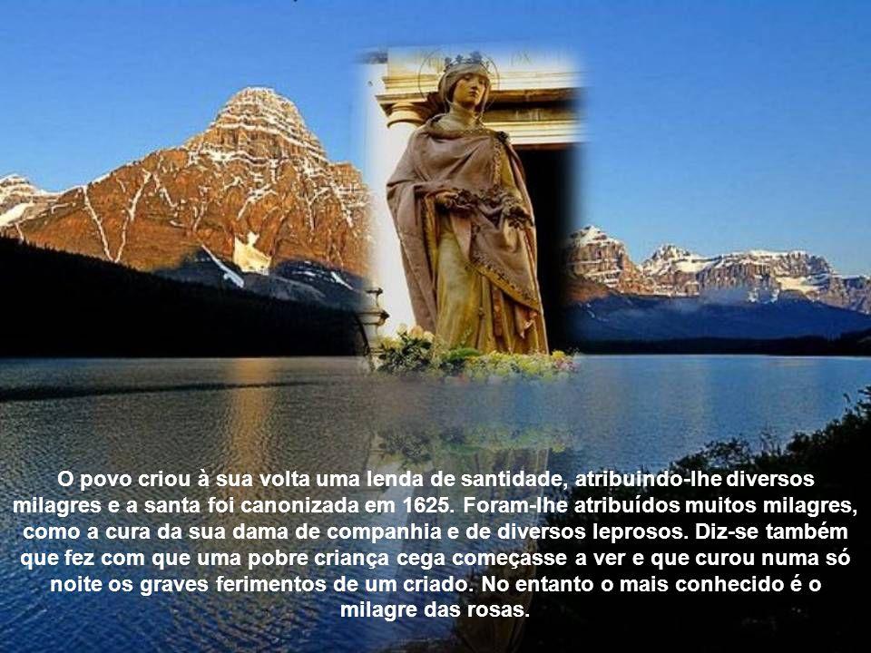 Mandou edificar o hospital de Coimbra junto à sua residência, o de Santarém e o de Leiria para receber enjeitados. Viveu uma profunda caridade sendo s