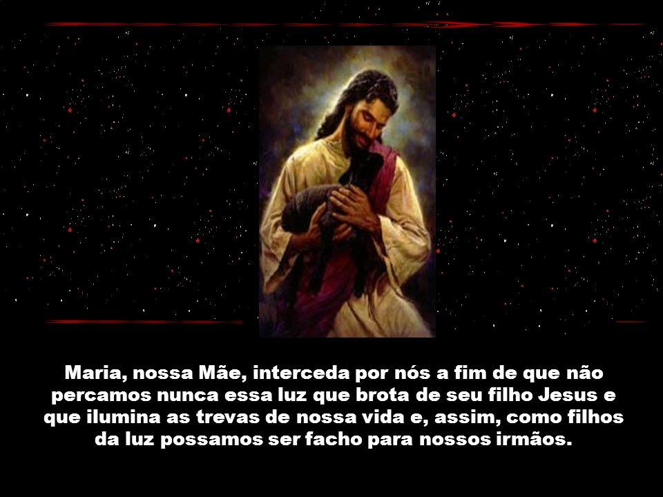 Senhor Jesus, Tu que desfaz a escuridão da ignorância, repele o negrume da maldade e do vício, nós te pedimos: faça-se o caminho da salvação para todo