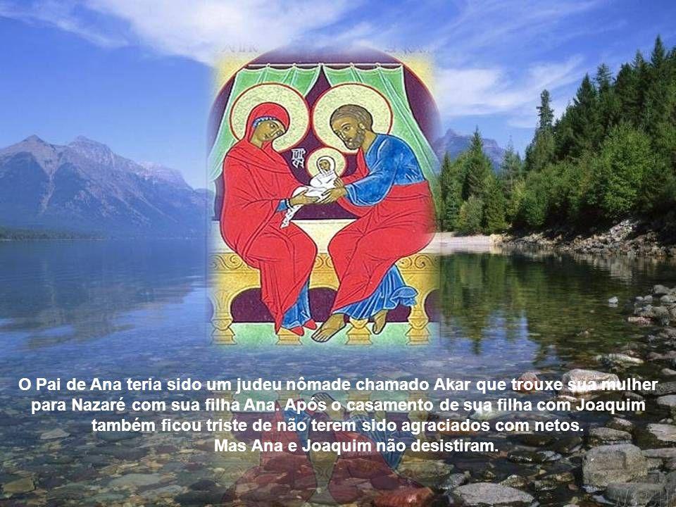 A tradição diz que Joaquim nasceu em Nazaré, e casou-se com Ana quando ele era jovem.
