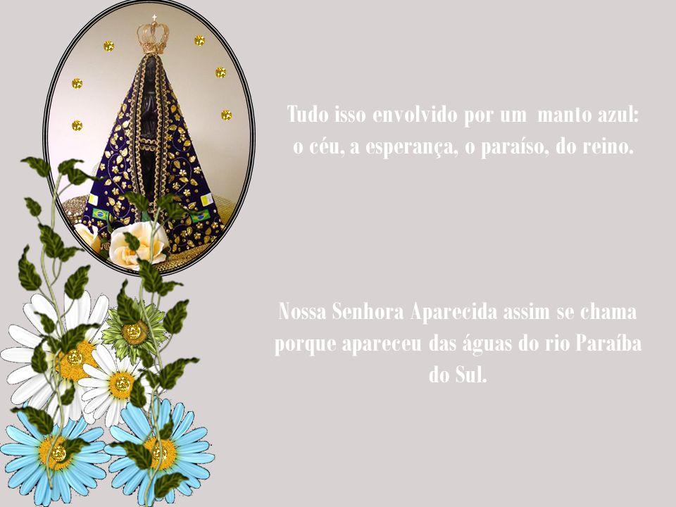 Nossa Senhora Aparecida nada mais é que uma mulher das muitas faces, que Nossa Senhora mostra à humanidade. Seu aspecto, retratado em sua imagem, é ún