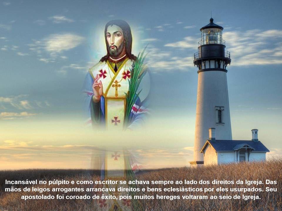 Empenhou todas as energias no trabalho da unificação das Igrejas, em remover o cisma, e reconduzir os hereges e cismáticos à união à Cátedra de São Pedro.