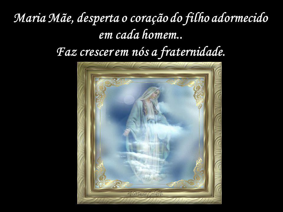 Maria Mãe, desperta o coração do filho adormecido em cada homem..