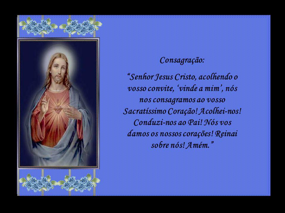 Quando o divino Redentor pendia da cruz, sentiu o seu Coração arder dos mais vários e veementes afetos, isto é, afetos de amor ardente, de consternação, de misericórdia, de desejo inflamado, de paz serena.