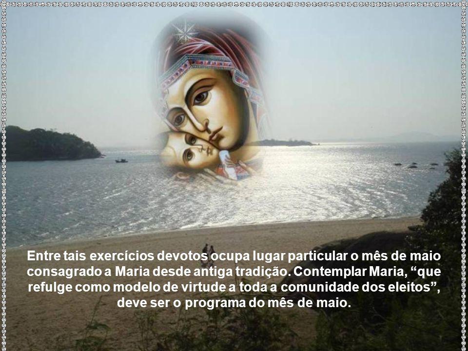 Exorta o Concílio Vaticano II todos os filhos da Igreja a que generosamente promovam o culto...