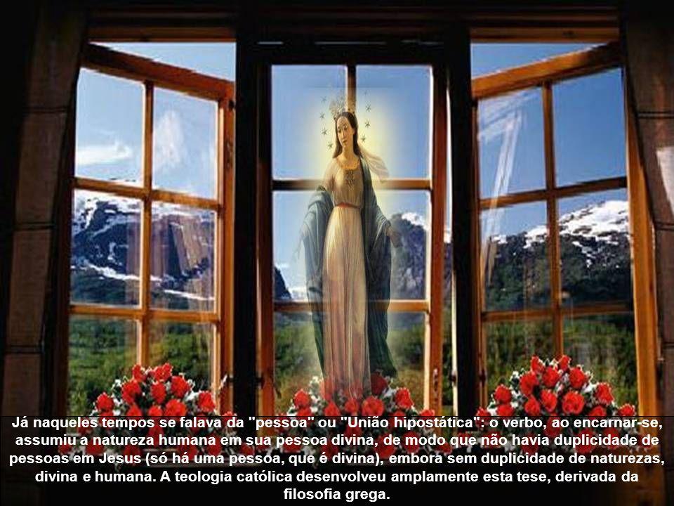 Nós temos que adorar e respeitar a união do Verbo com a carne, temos que ter temor de Deus e dar culto a Santa Trindade, temos que celebrar com nossos