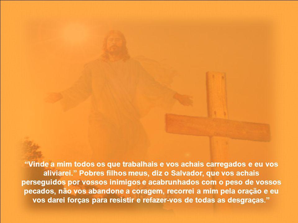A oração é alimento da alma, porque assim como o corpo não se pode sustentar sem alimento, assim, sem a oração, diz Santo Agostinho, não se pode conservar a vida da alma.