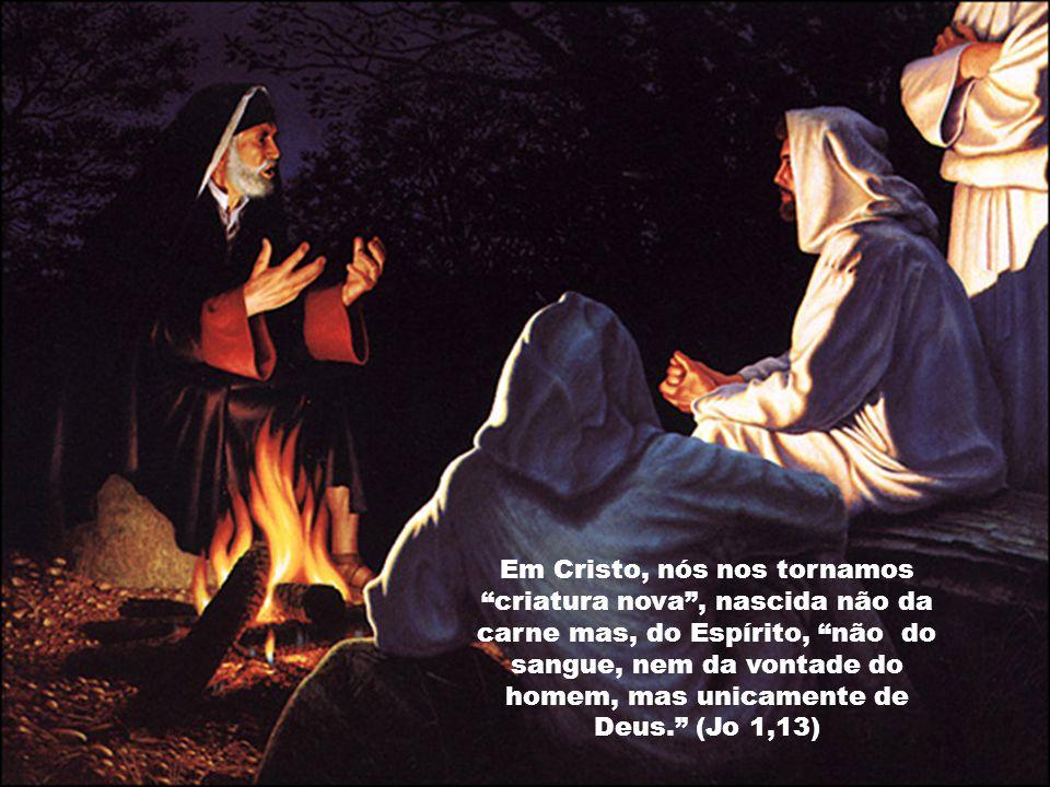Isso porque o Batismo infunde no homem, novo gérmem de vida, participação da vida divina, da vida de Cristo.