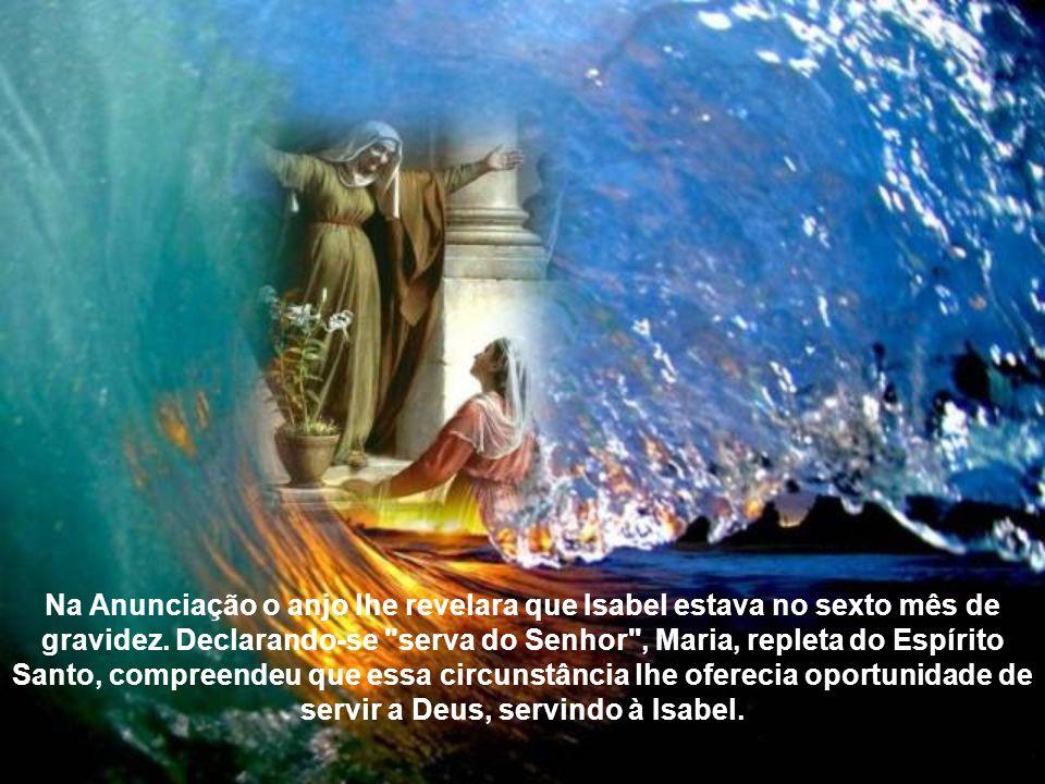A Visitação de Nossa Senhora a sua prima Isabel é uma festa da Igreja em que nos alegramos com a presença de Maria na vida dos cristãos católicos como