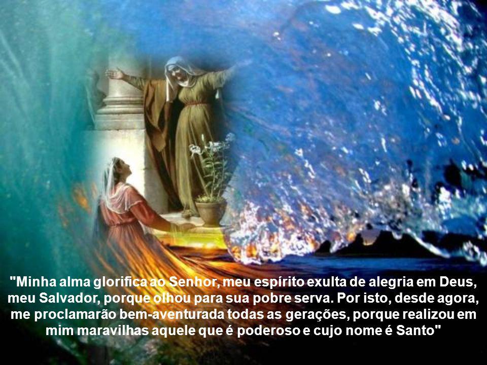 Maria tinha consciência de que o Onipotente realizara nela a maior das maravilhas: A Encarnação do Filho de Deus. Mas tinha profunda convicção de que,