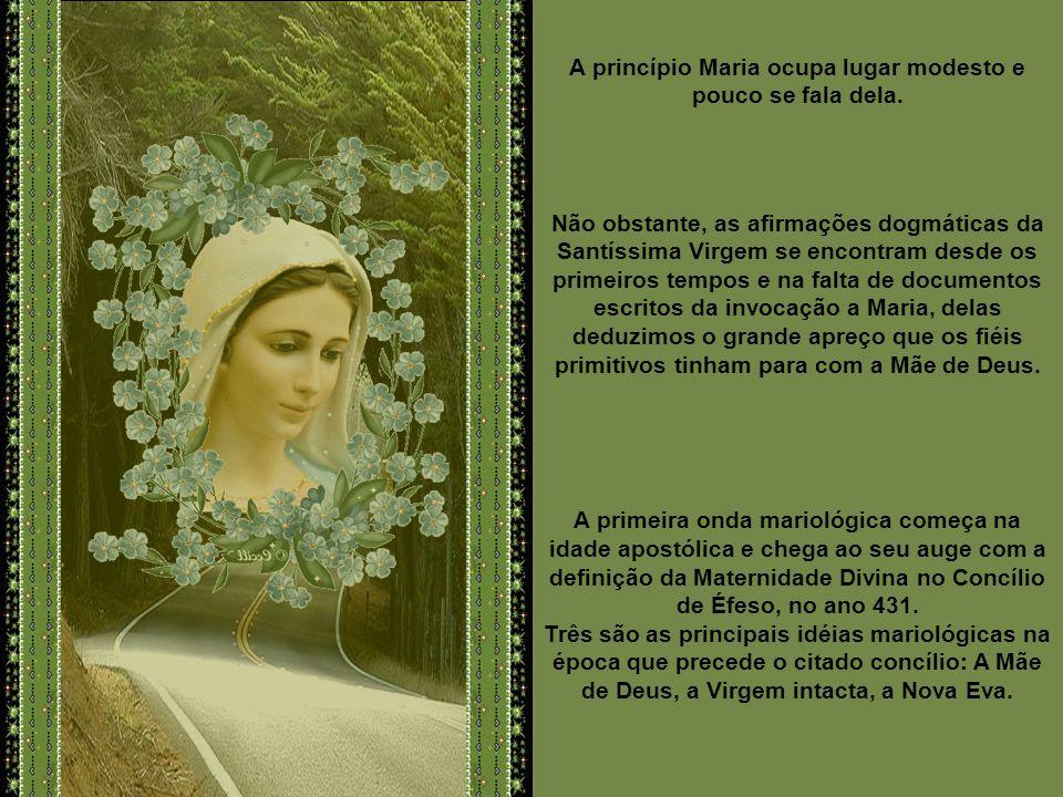 Seria inacreditável que não recorressem à intercessão de Maria, a Mãe de Jesus, para alcançarem as suas graças. Se muitos testemunhos vamos encontrar