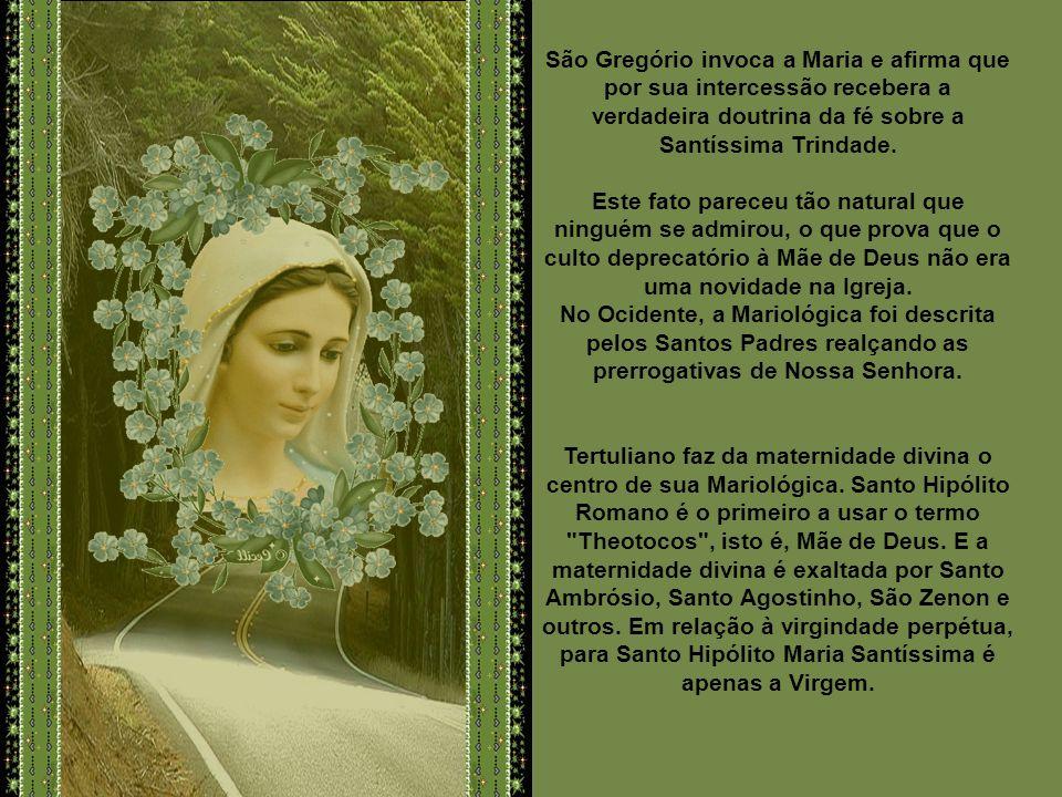 A idéia de Maria, a Nova Eva, encontra-se já no século II em São Justino: