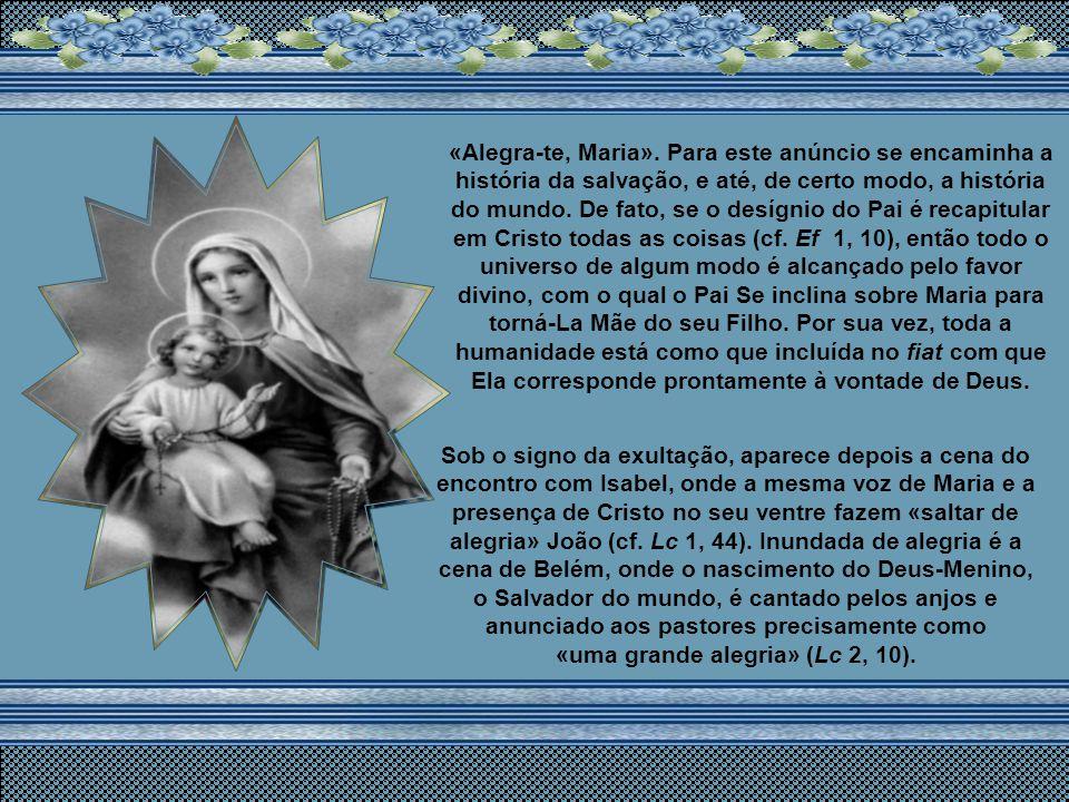 O Rosário é um dos percursos tradicionais da oração cristã aplicada à contemplação do rosto de Cristo. Paulo VI assim o descreveu: «Oração evangélica,
