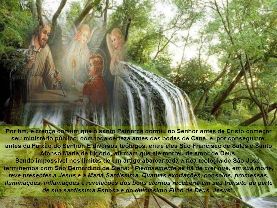 Patrono da Igreja, modelo das famílias cristãs Na Encíclica Quamquam pluries, Leão XIII expõe de maneira densa e profunda a doutrina sobre São José, d