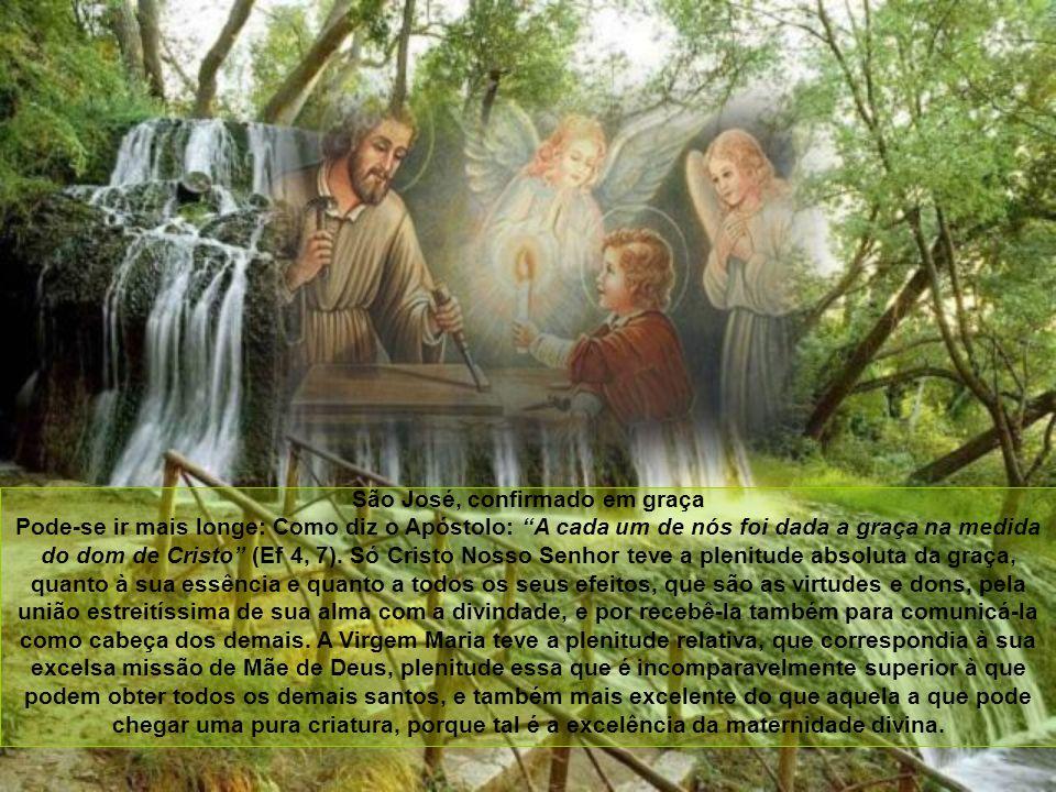 Santo Tomás de Aquino diz que é teologicamente certo que o matrimônio entre São José e a Virgem Maria foi verdadeiro e perfeito quanto à essência ou p