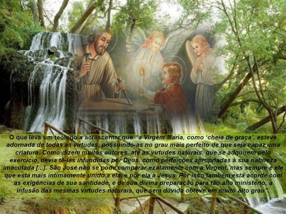 Santo Tomás afirma que a Santíssima Virgem foi confirmada no bem em todo o decurso de sua vida, sem haver incorrido em contaminação alguma. E isso lhe