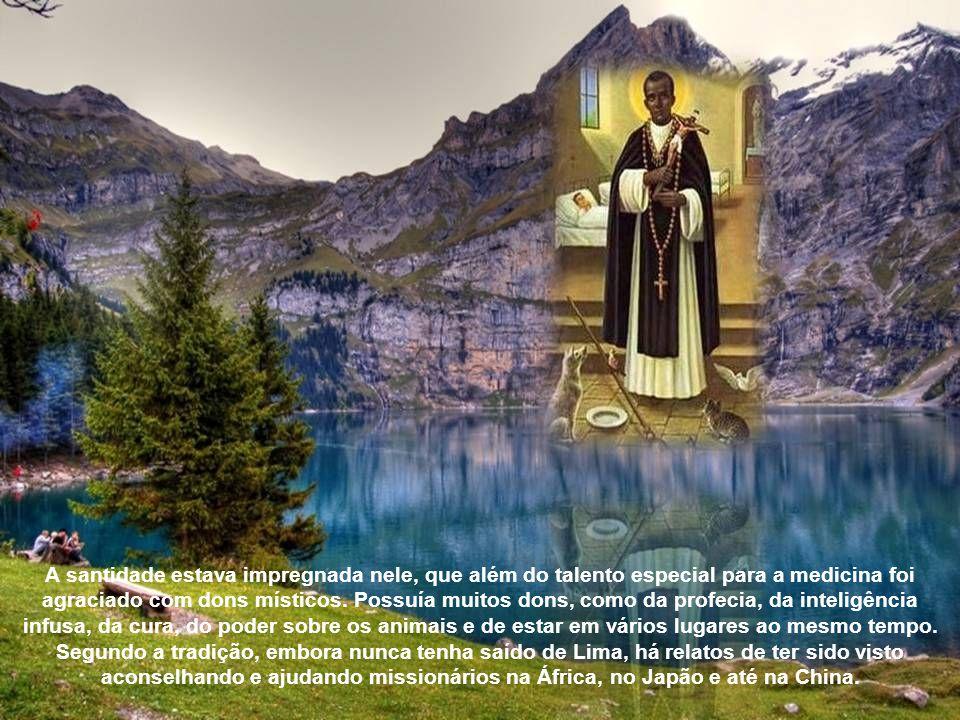 E ele, novamente por ser negro, só a muito custo conseguiu entrar como oblato num convento dos dominicanos.