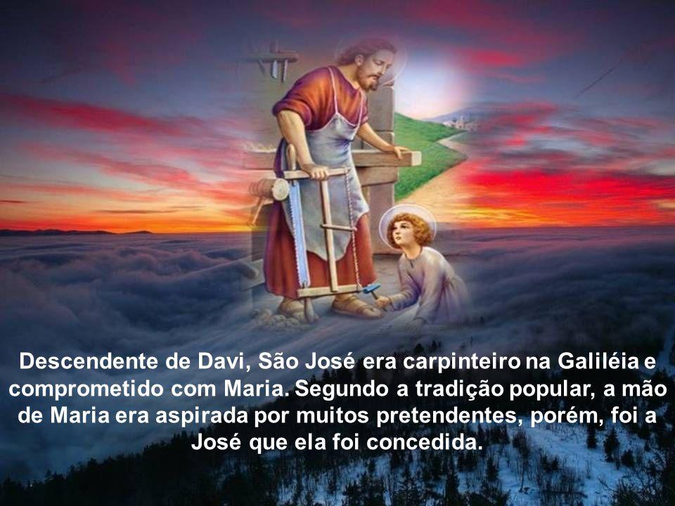 O culto a São José começou provavelmente no Egito, passando mais tarde para o Ocidente, onde hoje alcança grande popularidade.