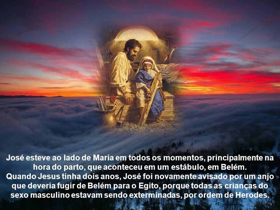 Quando Maria recebeu a anunciação do anjo Gabriel de que daria à luz ao Menino Jesus, José ficou bastante confuso porque apesar de não ter tomado parte na gravidez, confiava na fidelidade dela.