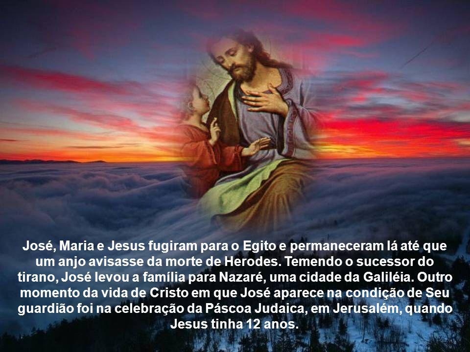 José esteve ao lado de Maria em todos os momentos, principalmente na hora do parto, que aconteceu em um estábulo, em Belém.