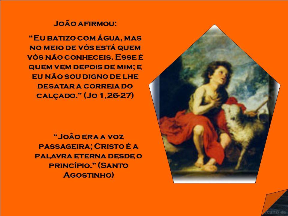 João é chamado estrela da manhã porque foi o anoitecer da ignorância e o amanhecer da luz da graça.
