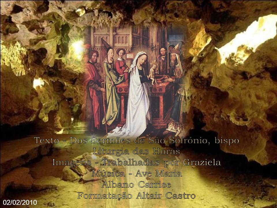 Também nós, abraçando pela fé a Cristo Jesus que vem de Belém, nos convertemos de pagãos em povo de Deus (Jesus é com efeito a Salvação de Deus Pai) e