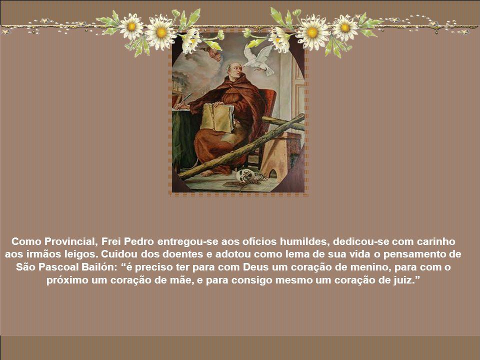 O modo de ser e de viver de São Pedro de Alcântara movimenta as consciências das elites e do povo simples. Ele busca o silêncio, a solidão, mas o seu