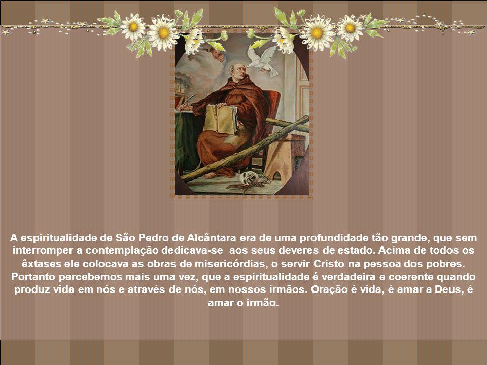 Como Provincial, Frei Pedro entregou-se aos ofícios humildes, dedicou-se com carinho aos irmãos leigos. Cuidou dos doentes e adotou como lema de sua v