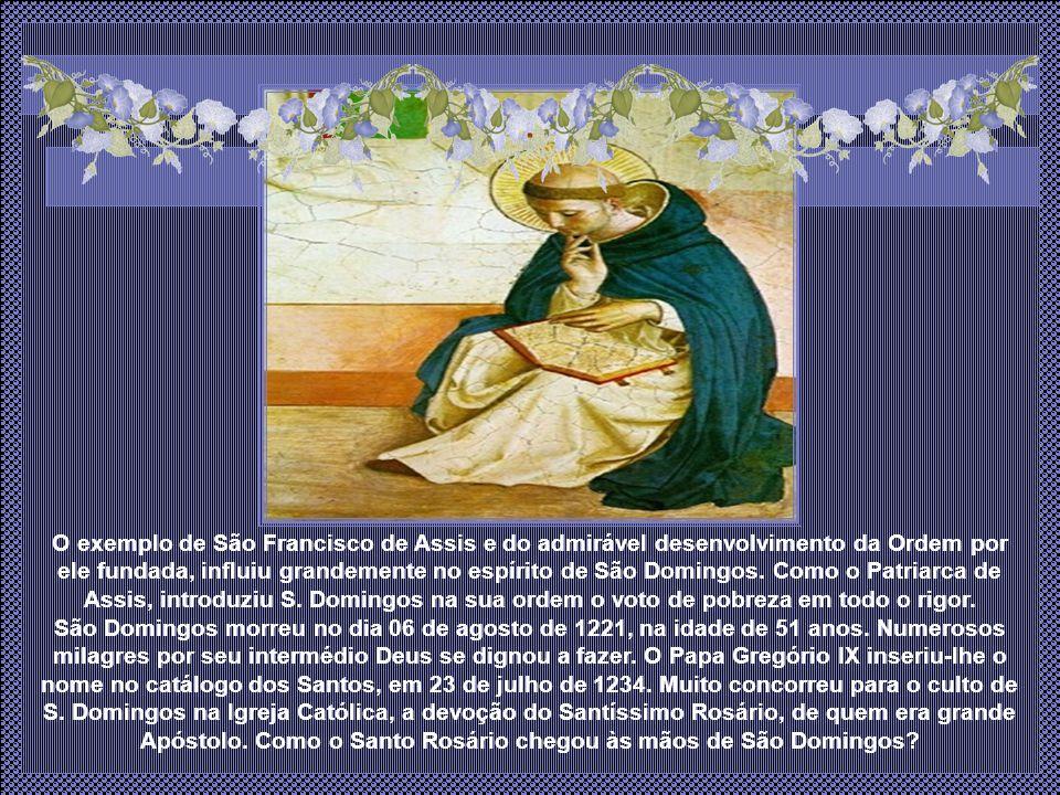 Pouco tempo depois, Domingos voltou à Roma e fundou diversos conventos na Itália.