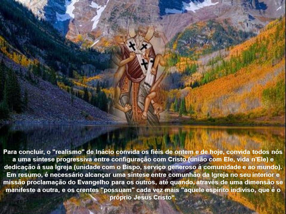 Inácio, o primeiro na literatura cristã, atribui à Igreja o adjetivo