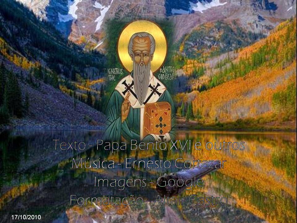 Santo Inácio escreveu sete cartas: Epístola a Policarpo de Esmirna, Epístola aos Efésios, Epístola aos Esmirniotas, Epístola aos Filadélfos, Epístola