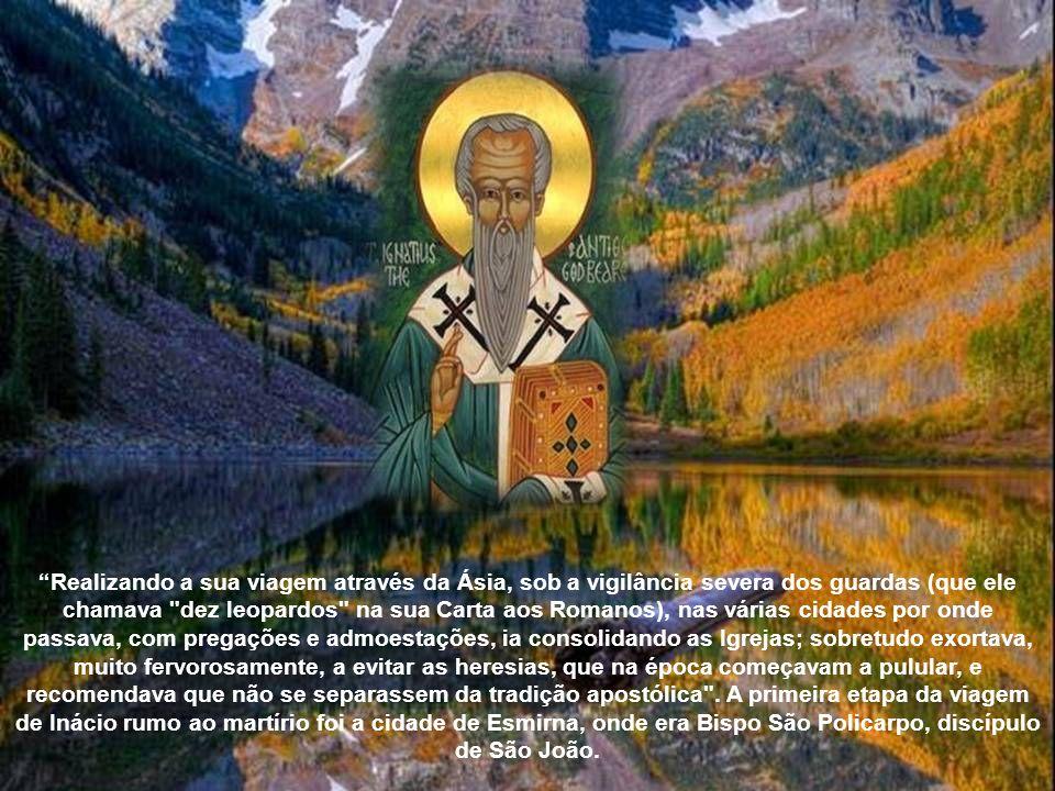 Em Antioquia, como sabemos dos Atos dos Apóstolos, surgiu uma comunidade cristã florescente: o primeiro Bispo foi o apóstolo Pedro assim nos diz a tra