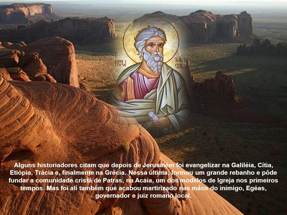 Alguns historiadores citam que depois de Jerusalém foi evangelizar na Galiléia, Cítia, Etiópia, Trácia e, finalmente na Grécia.