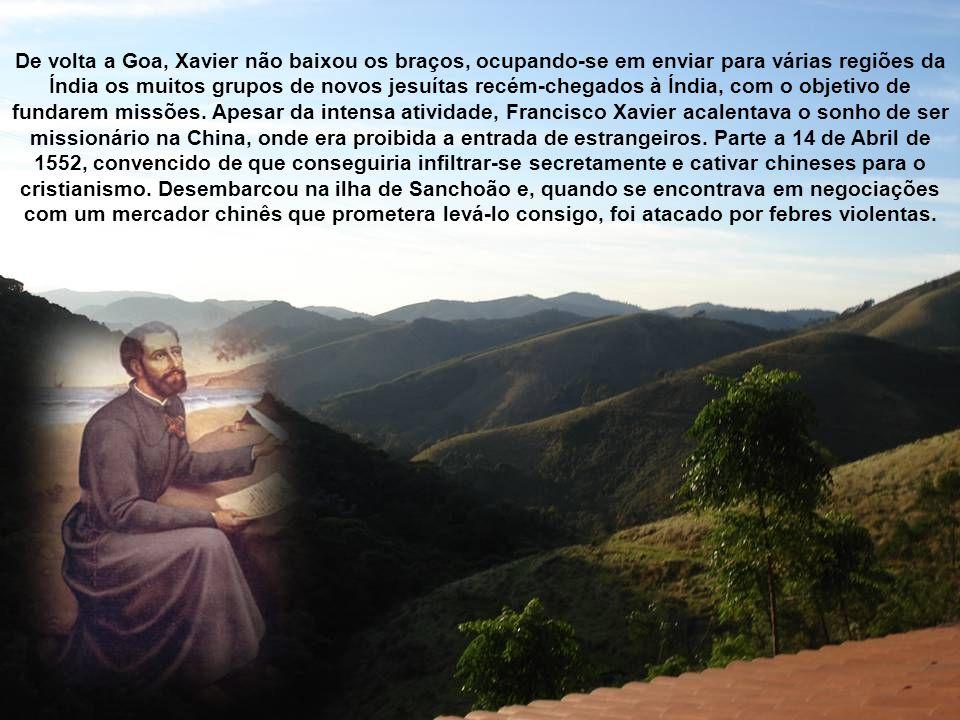 Com a passagem do tempo, a missão de Francisco Xavier no Japão pode ser considerada muito frutuosa, tendo conseguido estabelecer congregações em Hirad