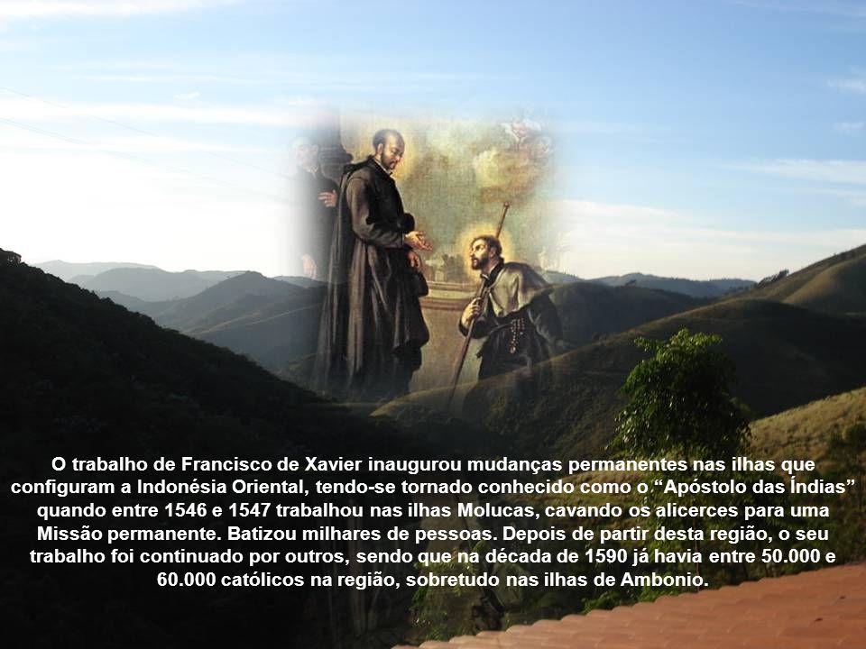 A 20 de Setembro de 1543, parte na sua primeira ação missionária para a costa a que os portugueses chamavam Costa de Pescaria, na costa este do Sul da